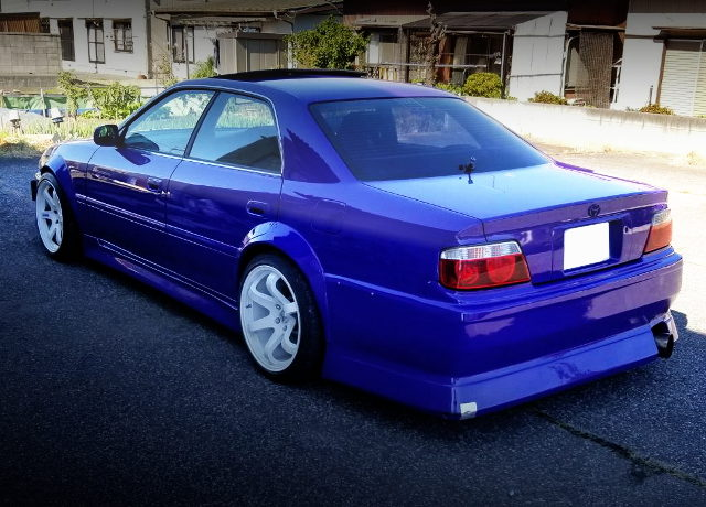 REAR EXTERIOR JZX100 CHASER PURPLE