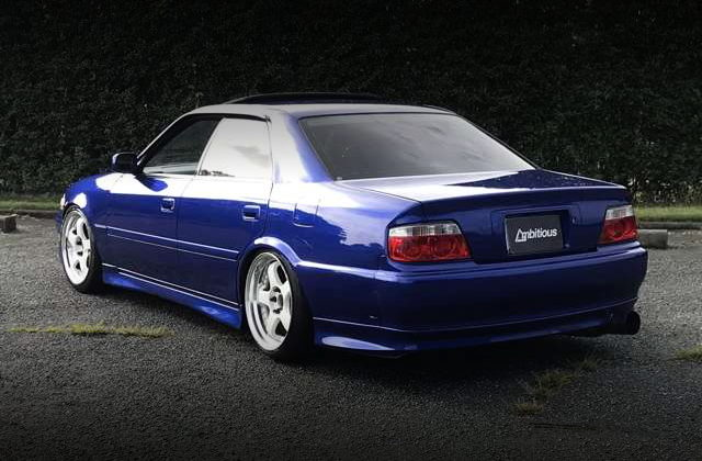 REAR TAIL LIGHT JZX100 CHASER BLUE