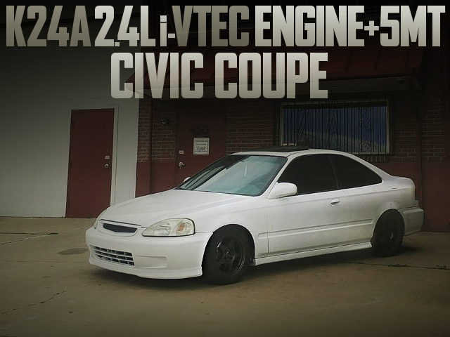 K24A iVTEC ENGINE CIVIC COUPE