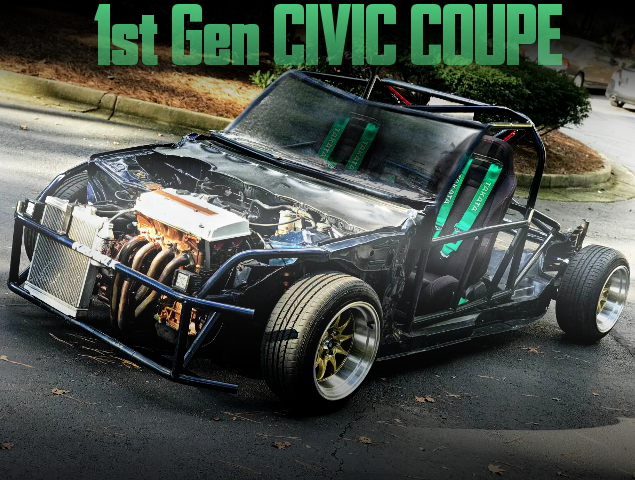 KART BUILD 1st Gen CIVIC COUPE