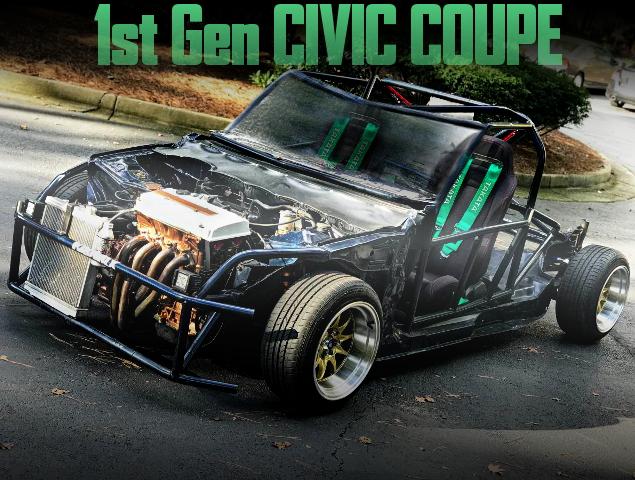 KART BUILD 1st Gen CIVIC COUPE