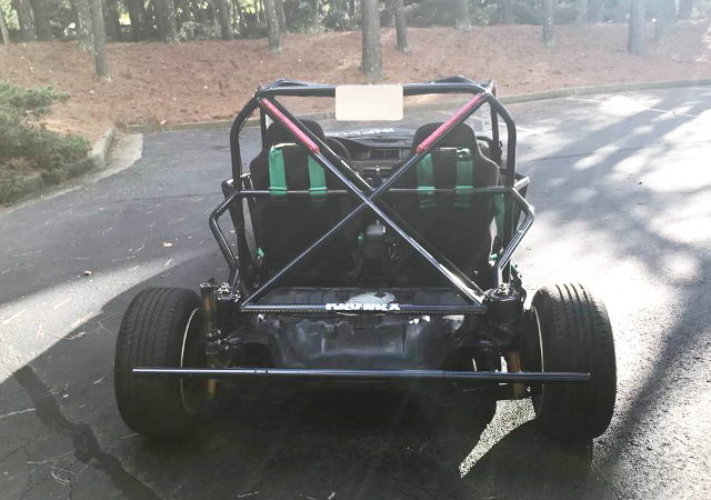 BACK EXTERIOR KART CIVIC COUPE