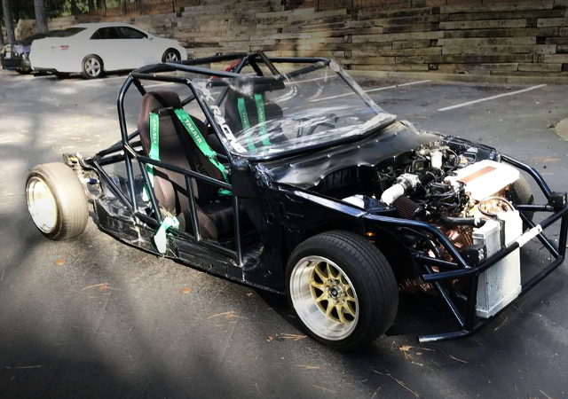 FRONT EXTERIOR CIVIC COUPE KART CUSTOM