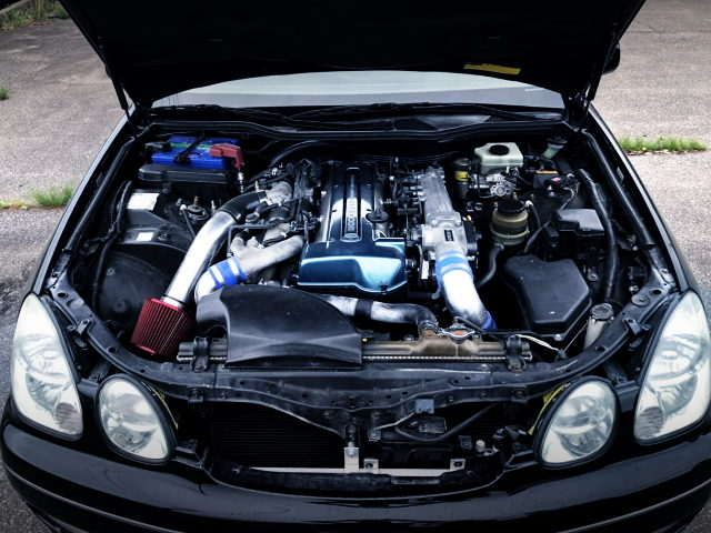 2JZ-GTE TWINTURBO ENGINE