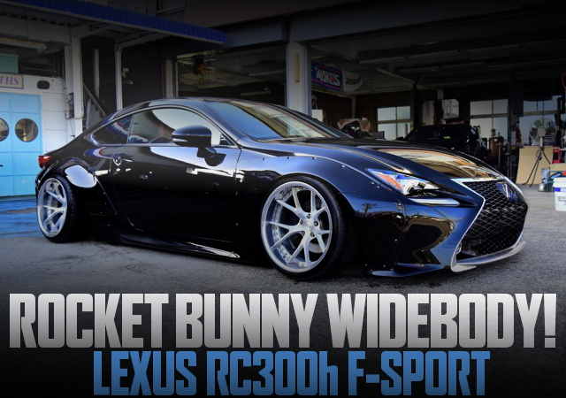 ROCKET BUNNY WIDE LEXUS RC300h