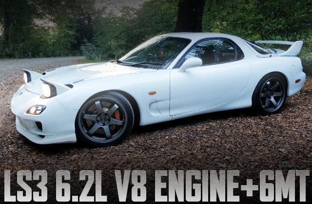 LS3 6200cc V8 ENGINE FD RX7