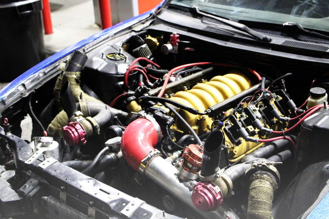 LSX V8 TWINTURBO ENGINE