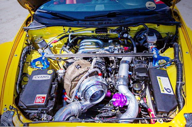 13B-REW ROTARY ENGINE WITH GTX4202R TURBO