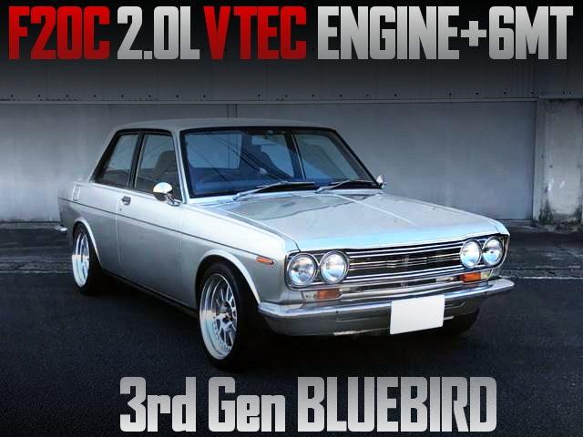 F20C VTECENGINE 6MT 510 BLUEBIRD