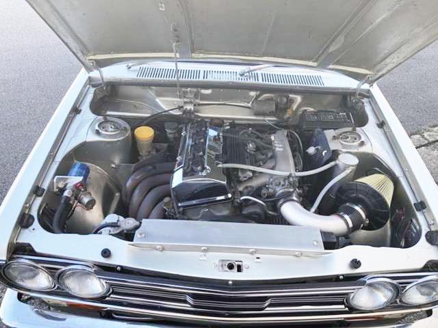 510 BLUEBIRD ENGINE ROOM