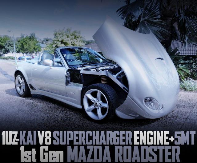 1UZ-FE V8 SUPERCHARGER NA MAZDA ROADSTER