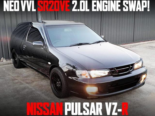 SR20VE ENGINE SWAP PULSAR VZR