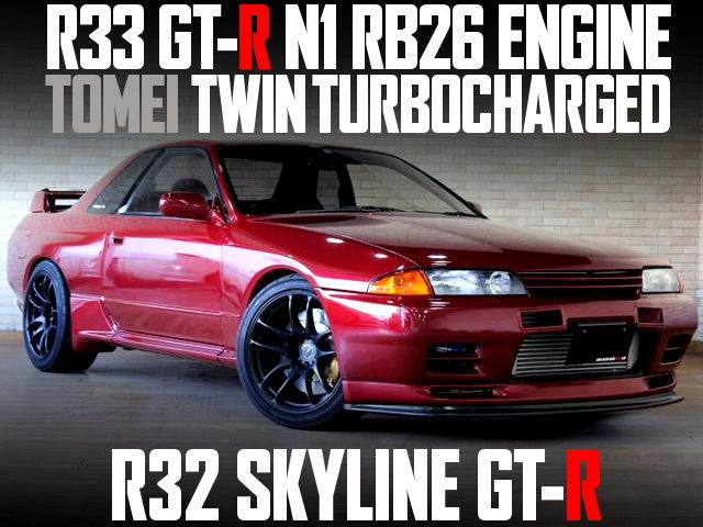 RB26 N1 ENGINE R32 GT-R