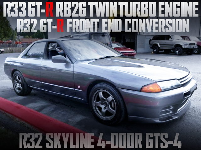 RB26 TWINTURBO SWAP R32 SKYLINE 4-DOOR