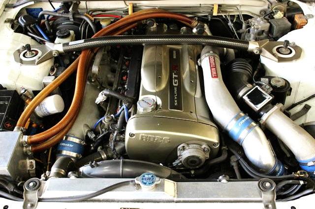 NUR SPEC RB26 TWINTURBO ENGINE