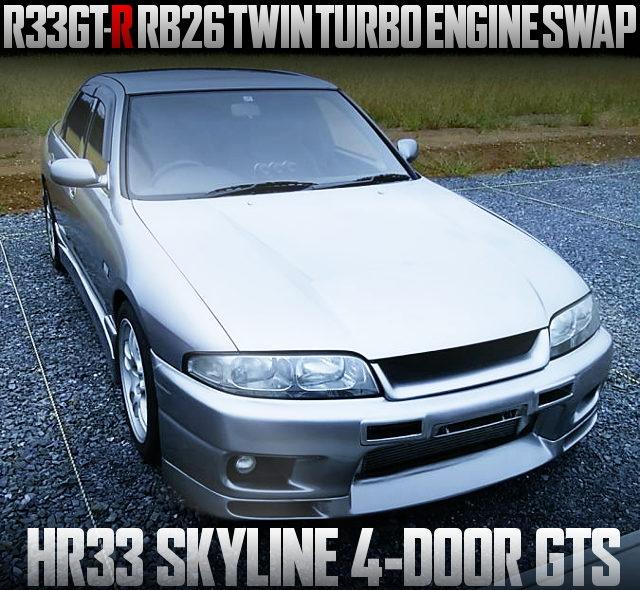 RB26 TWINTURBO HR33 SKYLINE 4-DOOR