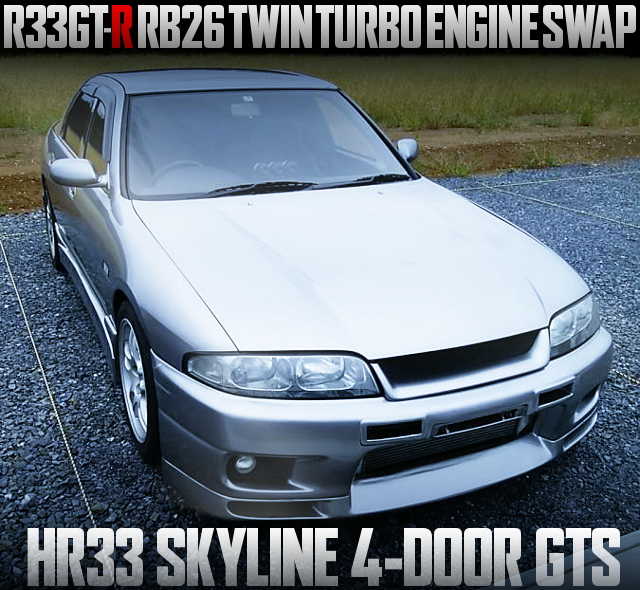 RB26 TWINTURBO HR33 SKYLINE 4-DOOR