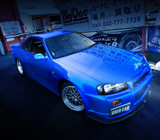 FRONT EXTERIOR R34 GTR