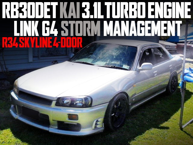 RB30DET 3100cc TURBO ENGINE R34 SKYLINE 4-DOOR