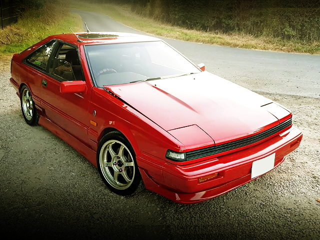FRONT EXTERIOR S12 SILVIA RED