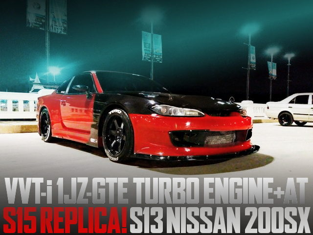 S15 REPLICA S13 NISSAN 200sx RED