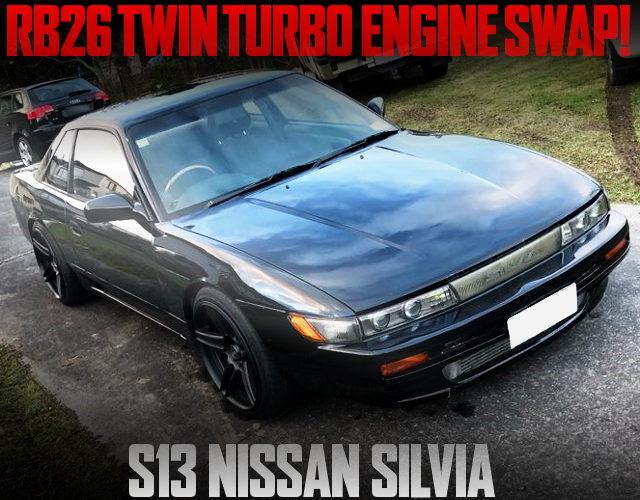 RB26 TWINTURBO ENGINE S13 SILVIA