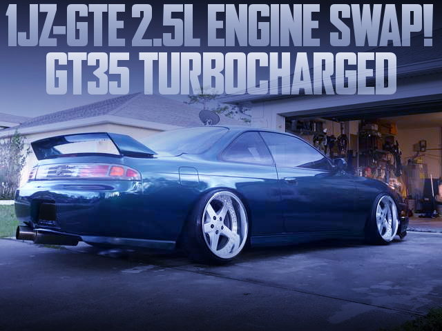 1JZ-GTE GT35 SINGLE TURBO S14 KOUKI 240SX