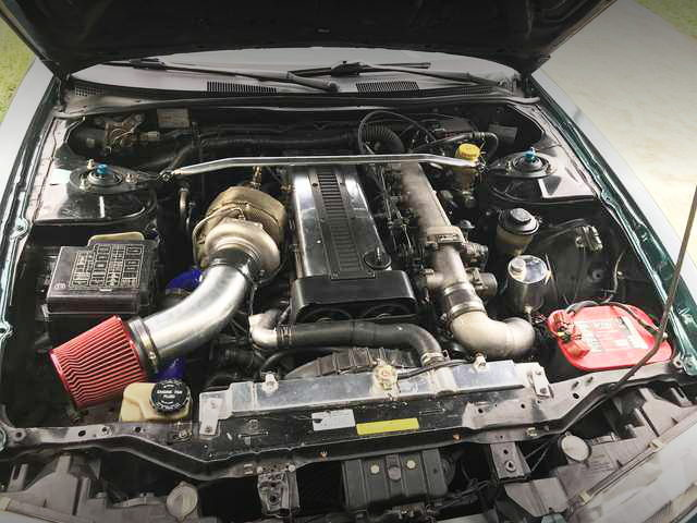1JZ-GTE ENGINE WITH GT35 TURBO
