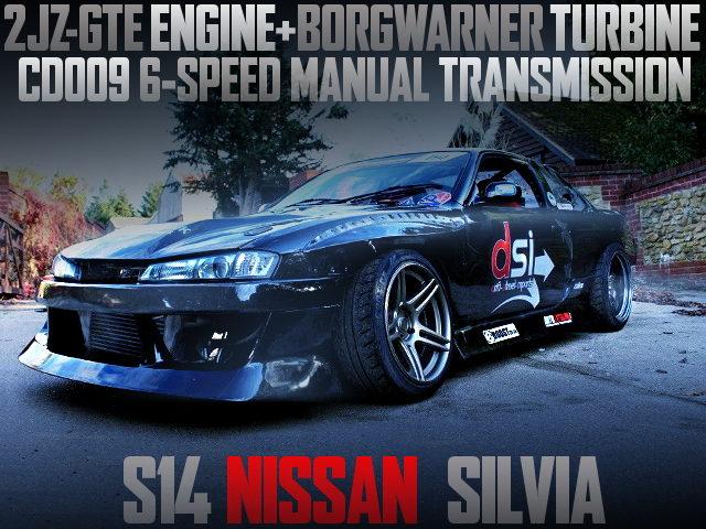 2JZ-GTE SINGLE TURBO S14 SILVIA