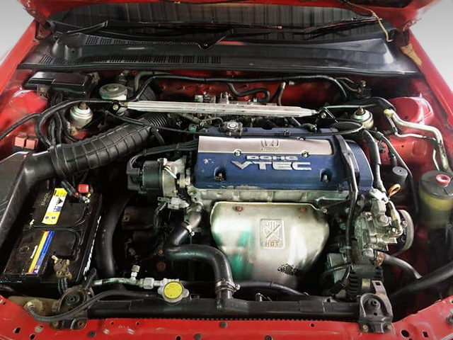 H23A VTEC ENGINE BLUE TOP