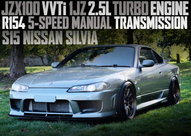 VVTi 1JZ-GTE ENGINE S15 SILVIA