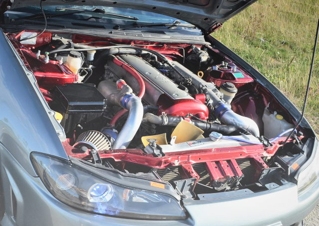 VVTi 1JZ-GTE TURBO ENGINE