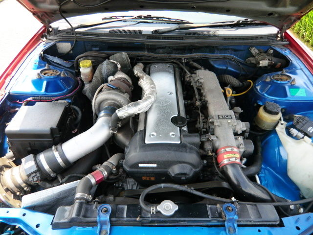 VVTi 1JZ TURBO ENGINE