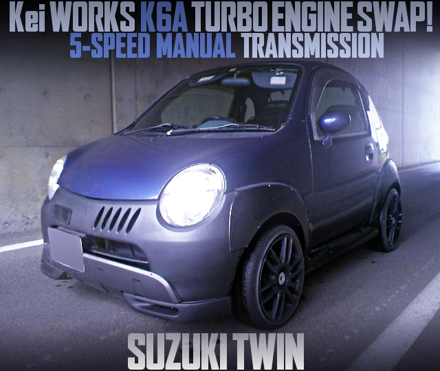 K6A TWINCAM TURBO ENGINE SUZUKI TWIN