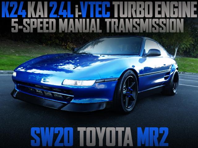 K24 iVTECTURBO ENGINE SW20 MR2