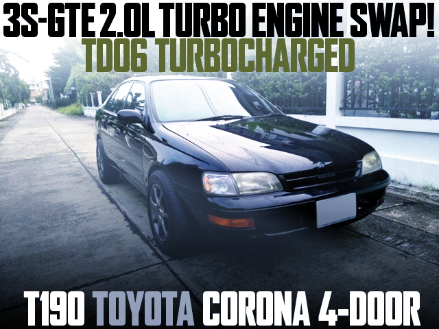 3S-GTE ENGINE WITH TD06 T190 CORONA