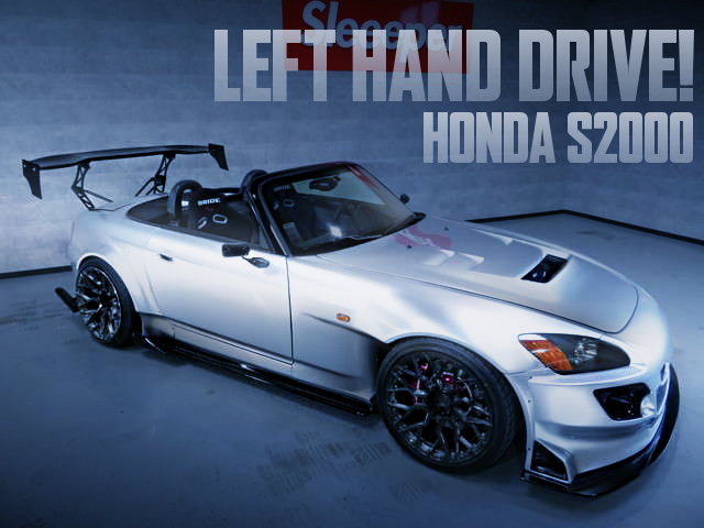 US HONDA LEFT HAND DRIVE S2000 WIDEBODY