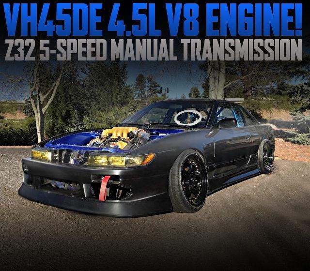 VH45DE V8 ENGINE S13 NISSAN 240SX