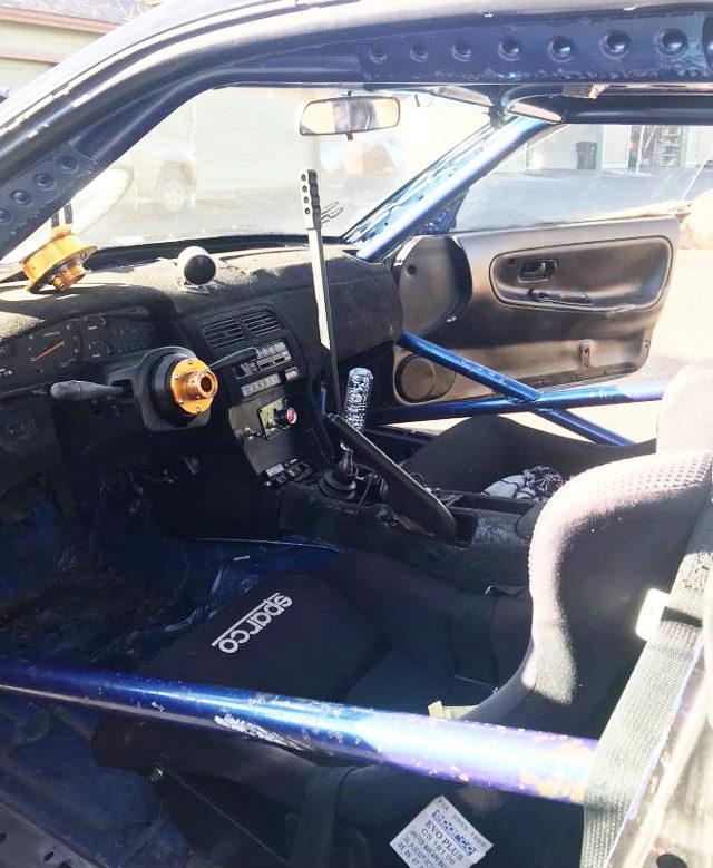 INTERIOR DRIFT CAR 240SX