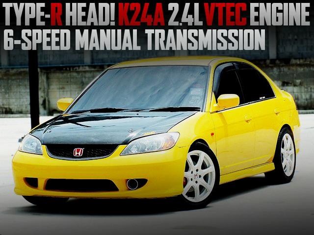 TYPE-R HEAD K24A VTEC ES CIVIC FERIO