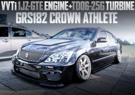 VVTi 1JZ TURBO ENGINE ZERO CROWN