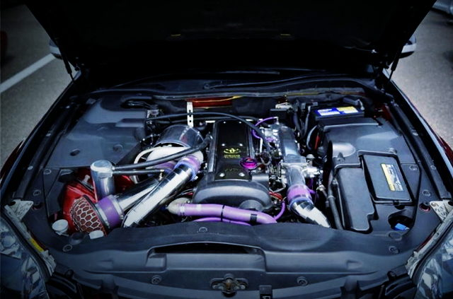 1JZ-GTE TURBO ENGINE
