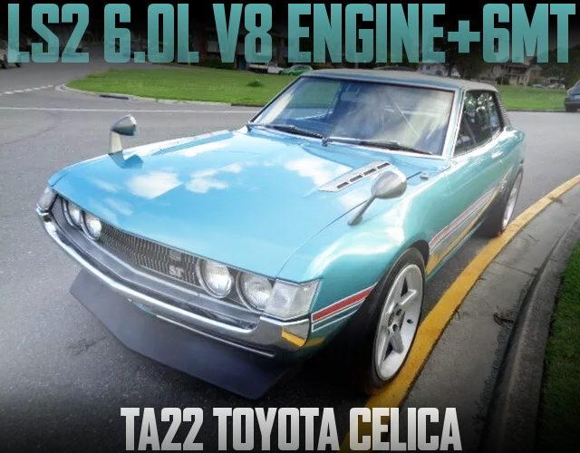 LS2 6000cc V8 ENGINE TA22 CALICA