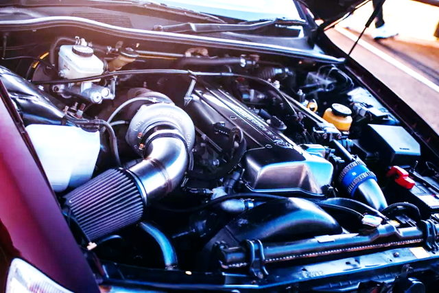 2JZ-GTE VVTi ENGINE WITH SINGLE TURBO