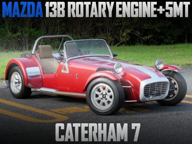 13B ROTARY ENGINE CATERHAM SEVEN