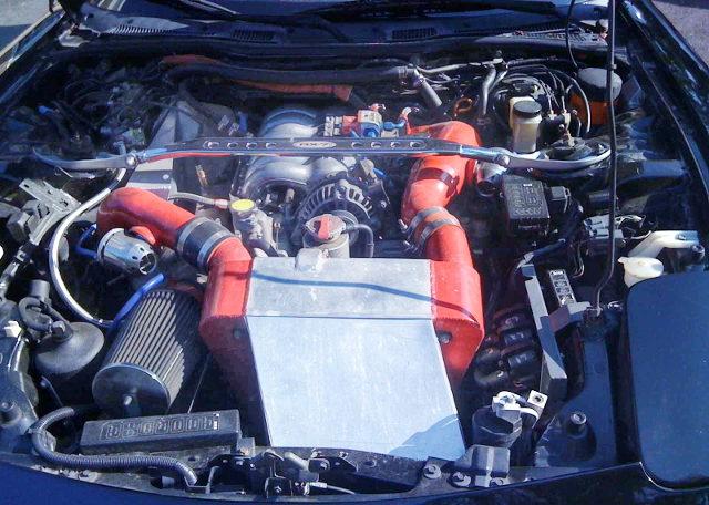20B THREE ROTOR ENGINE INTO FD3S RX7