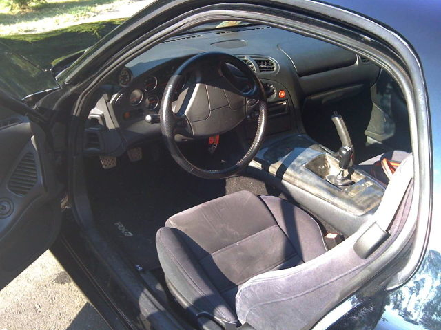 LEFT HAND INTERIOR FOR FD3S RX7
