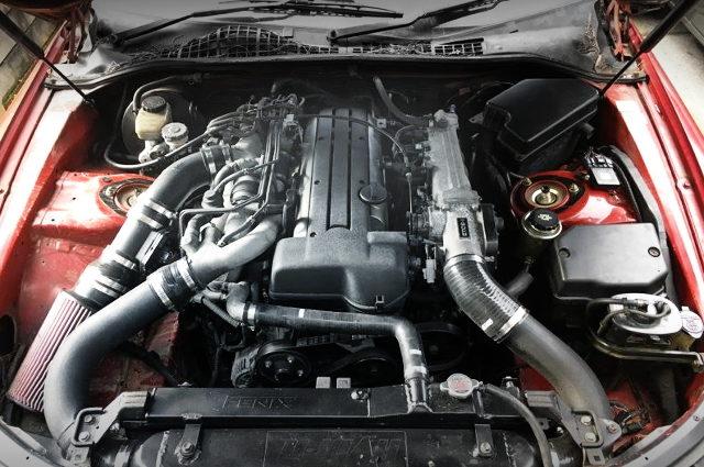 2JZ 3000cc VVTi TWIN TURBO ENGINE