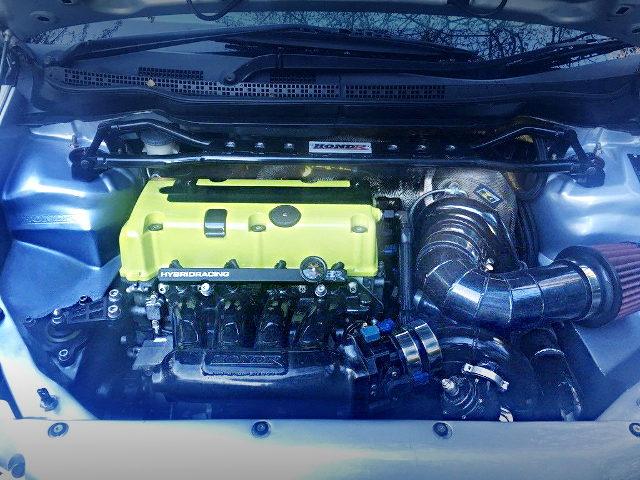 K24A iVTEC ENGINE with GARRETT TURBO