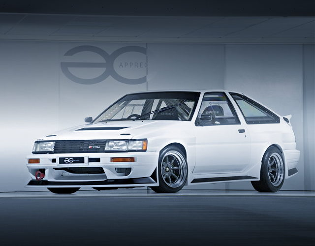 FRONT EXTERIOR AE86 LEVIN HATCH